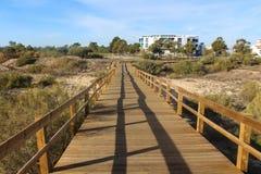 Strand von Adam und von Eve in Portugal Lizenzfreie Stockfotografie