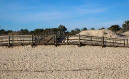 Strand von Adam und von Eve in Portugal Lizenzfreies Stockfoto