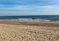 Strand von Adam und von Eve in Portugal Lizenzfreie Stockfotos
