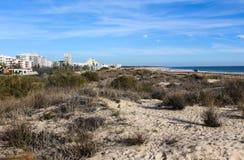 Strand von Adam und von Eve in Portugal Stockfotos