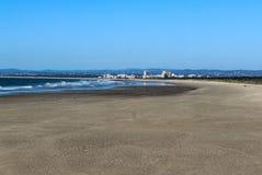Strand von Adam und von Eve in Portugal Stockbild