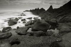 Strand von Azkorri Stockfotos