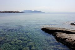 Strand von Bodrum Lizenzfreie Stockfotos