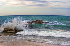 Strand von Budva Stockfotografie