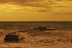 Strand von Budva Lizenzfreie Stockfotografie
