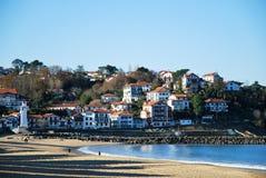 Strand von Heilig-Jean-De-Luz Stockfotos