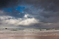Strand von Helgueras Stockfotos