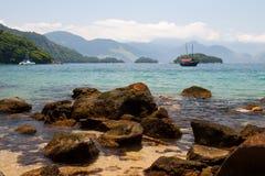 Strand von Ilha groß, Brasilien Lizenzfreie Stockbilder