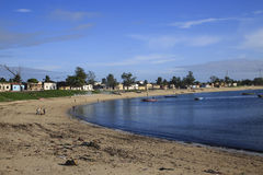 Strand von Insel von Mosambik, Stockbild