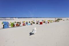 Strand von Juist Stockfotos