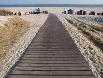Strand von juist Stockfoto