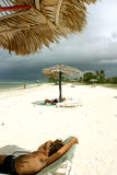 Strand von Kuba Lizenzfreie Stockfotografie