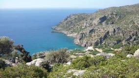 Strand von Lissos Lizenzfreies Stockfoto