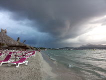 Strand von Mallorca, Spanien Lizenzfreie Stockfotos