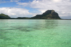 Strand von Mauritius Lizenzfreies Stockbild