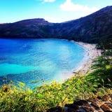 Strand von oben Lizenzfreie Stockfotografie