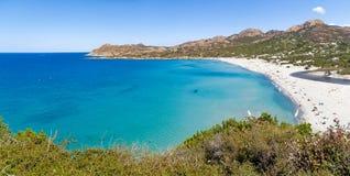 Strand von Ostriconi Stockfoto