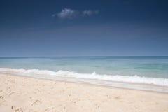 Strand von Ozean Stockbild