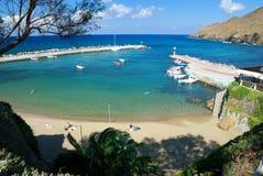 Strand von Panormo, Kreta Stockbilder