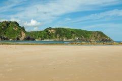 Strand von Pechon Stockfotos