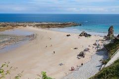Strand von Pechon Stockfotografie