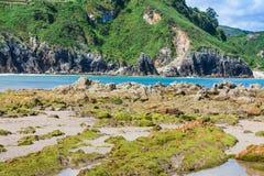 Strand von Pechon Stockfoto