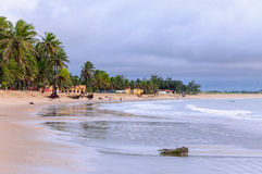 Strand von Pititinga, Rio Grande do Norte (Brasilien) Lizenzfreie Stockbilder