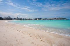 Strand von Riazor Lizenzfreie Stockbilder