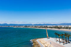 Strand von Salou, Spanien Lizenzfreie Stockfotografie