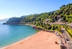 Strand von San Sebastián Lizenzfreies Stockfoto