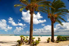 Strand von Sanvito Lo Capo, Sizilien Lizenzfreies Stockfoto