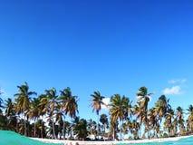 Strand von Saona-Insel, Dominikanische Republik lizenzfreie stockbilder