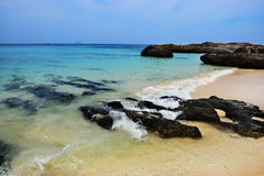 Strand von Thailand, Phuket Provinz Stockbild