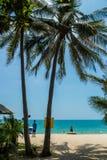 Strand voorthailand Royalty-vrije Stock Afbeelding
