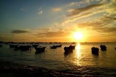 Strand Vung Thau, Vietnam lizenzfreie stockfotos