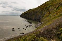 Strand Wales för kustlinjePendine sander Royaltyfri Foto