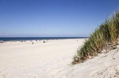 Strand wiev Stock Foto