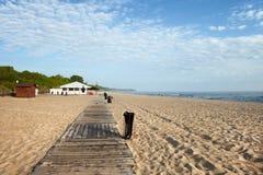 Strand in Wladyslawowo Stockfotografie