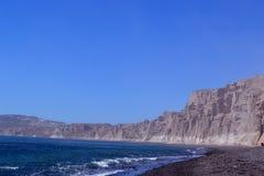 Strand, zand, rotsen Royalty-vrije Stock Foto's