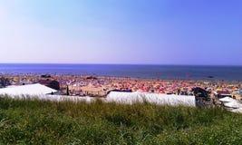 Strand Zandvoort aan Zee, Holland, Nederland royalty-vrije stock fotografie