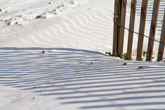 Strand-Zaun Stockbilder