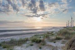 Strand Zeeland Royaltyfria Foton
