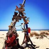 Strand-Zeichen Lizenzfreies Stockbild