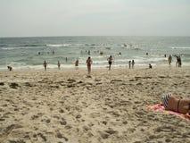 Strand-Zeit lizenzfreies stockfoto
