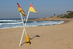Strand in Zuid-Afrika Stock Foto's