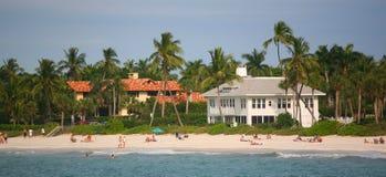 Strand - Zuid-Miami Florida Royalty-vrije Stock Foto