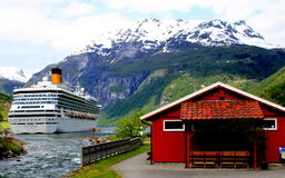 Geiranger, Norway Stock Photography