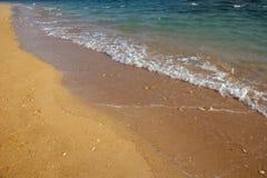 Strandachtergrond Stock Foto's