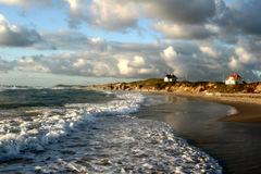 Strandaktivitäten Lizenzfreies Stockbild