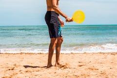 Strandaktiviteter royaltyfri bild